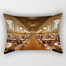 New York Public Library Rectangular Pillow