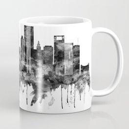 Houston Texas Skyline BW Coffee Mug