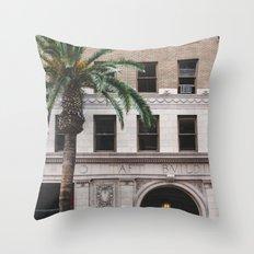 Taft Building Throw Pillow