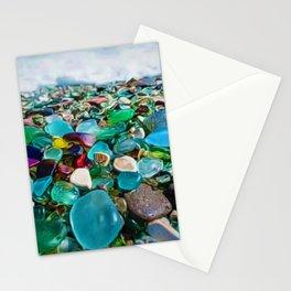 Kauai's Glass Beach, Hawaiian Portrait Stationery Cards