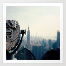 Empire State Building NYC Art Print