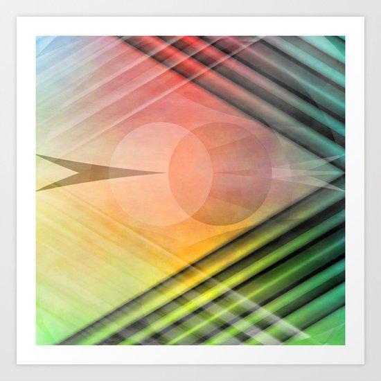 Abstract No. 3 Art Print