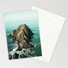 Island green sea Stationery Cards