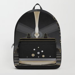 Art deco design VI Backpack