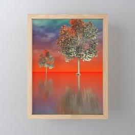 strange light somewhere -12- Framed Mini Art Print