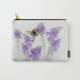 Watercolor Bumble Bee Carry-All Pouch