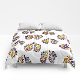 Breathe in Nature's Colors Comforters