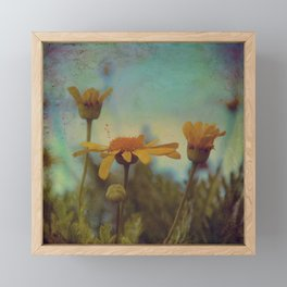 The beauty of simple things Framed Mini Art Print