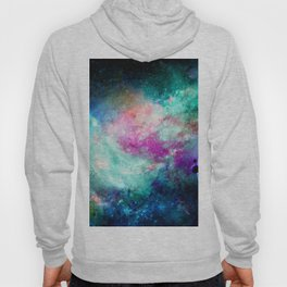 Teal Galaxy Hoody