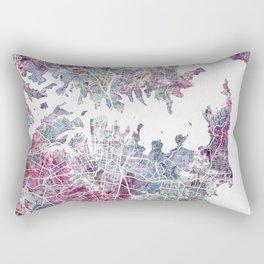 Sydney map Rectangular Pillow