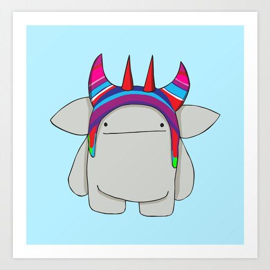 Chullo Art Print