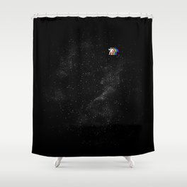 Gravity V2 Shower Curtain