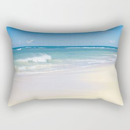 beach bliss Rectangular Pillow