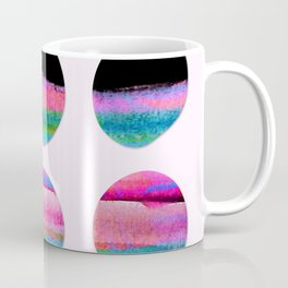 colorful circles Coffee Mug