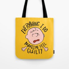 CHARLIE BROWN Tote Bag
