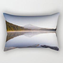 A Trillium Morning Rectangular Pillow
