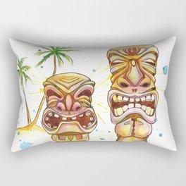 Freaky Tiki Rectangular Pillow