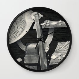 Side Saddle Wall Clock