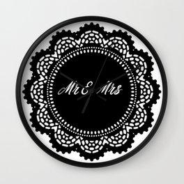 Mr & Mrs Wall Clock