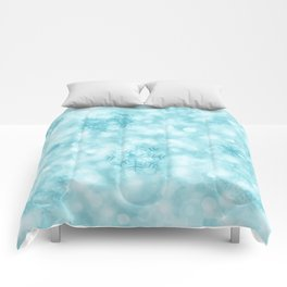 Winter Vibes Comforters