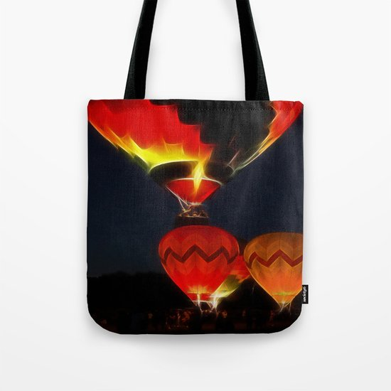 Night Of The Balloons Tote Bag