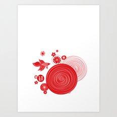 CNY14 by Friztin Art Print