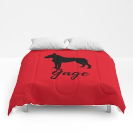 Gage Red Boxer Comforters