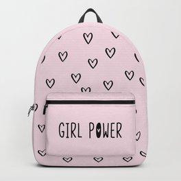 GIRL POWER // grl pwr (pink) Backpack