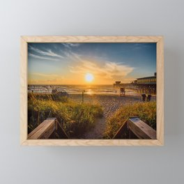 Sunrise at Cocoa Beach Framed Mini Art Print