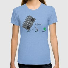 dunno 'bout you other ants, but I came to party! Womens Fitted Tee X-LARGE Tri-Blue