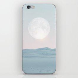 Pastel desert II iPhone Skin