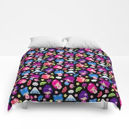 Kawaii Kokeshi J-Pop! Comforters