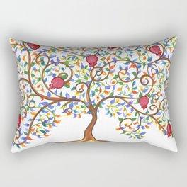 Pomegranate Tree Rectangular Pillow