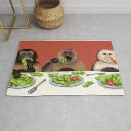 Dieting Monkeys Rug