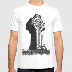 Celtic memorial Mens Fitted Tee White MEDIUM