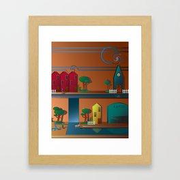 The Outskirts Framed Art Print