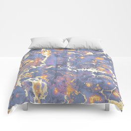 Complementary Paint Marble Comforters