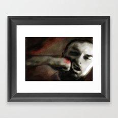 Seeing Red... Framed Art Print