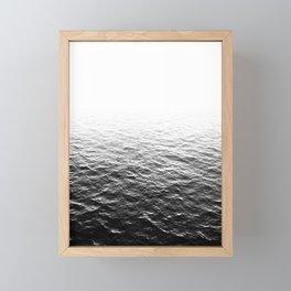Lost In The Ocean 2 Framed Mini Art Print