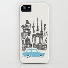 Berlin Cityscape Slim Case iPhone SE