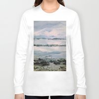 maine Long Sleeve T-shirts featuring Maine by Samantha Crepeau
