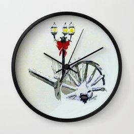 Christmas light Wall Clock