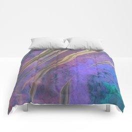 Opal in purple Comforters