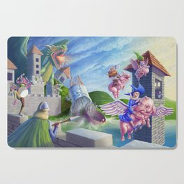 When pigs can fly Cutting Board