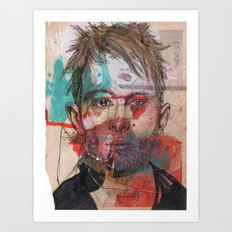 Thom Yorke by Leo Tezcucano Art Print