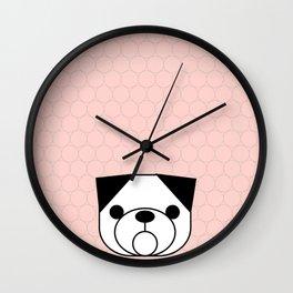 Pop Dog Pug Wall Clock