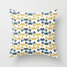 Zany Du Bow Tie Pattern Throw Pillow