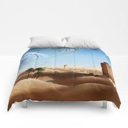 Desert Landscape 2 Comforters