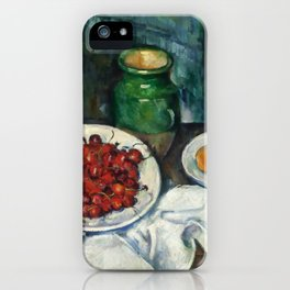 "Paul Cezanne ""Still Life with Cherries and Peaches"" iPhone Case"