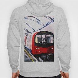 London Underground Northern Line Fine Art Hoody